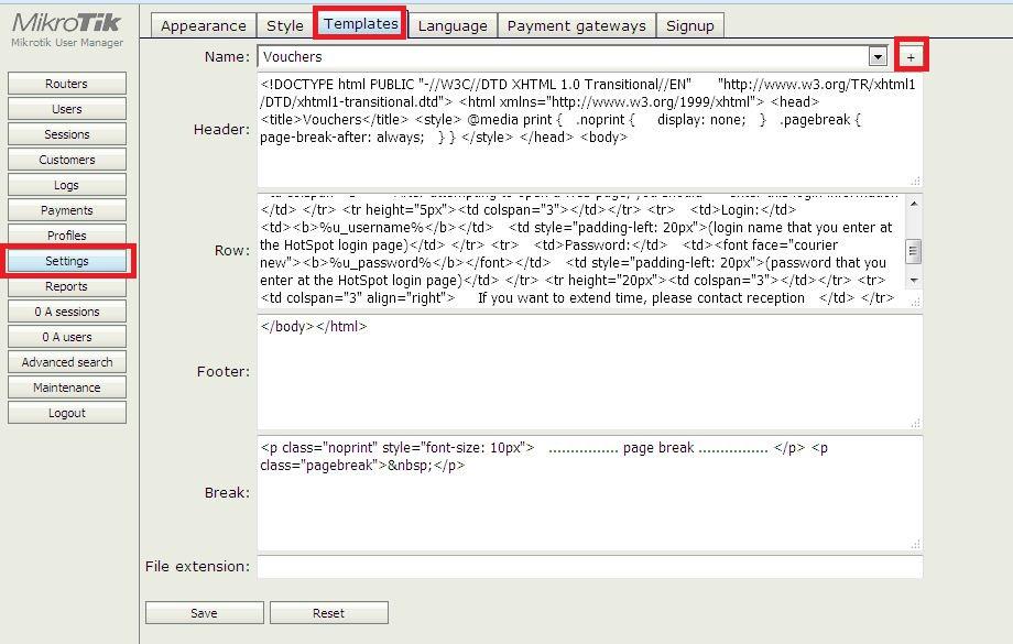 User Manager : คู่มือการตั้งค่า MikroTik เพื่อสร้างคูปองแบบ