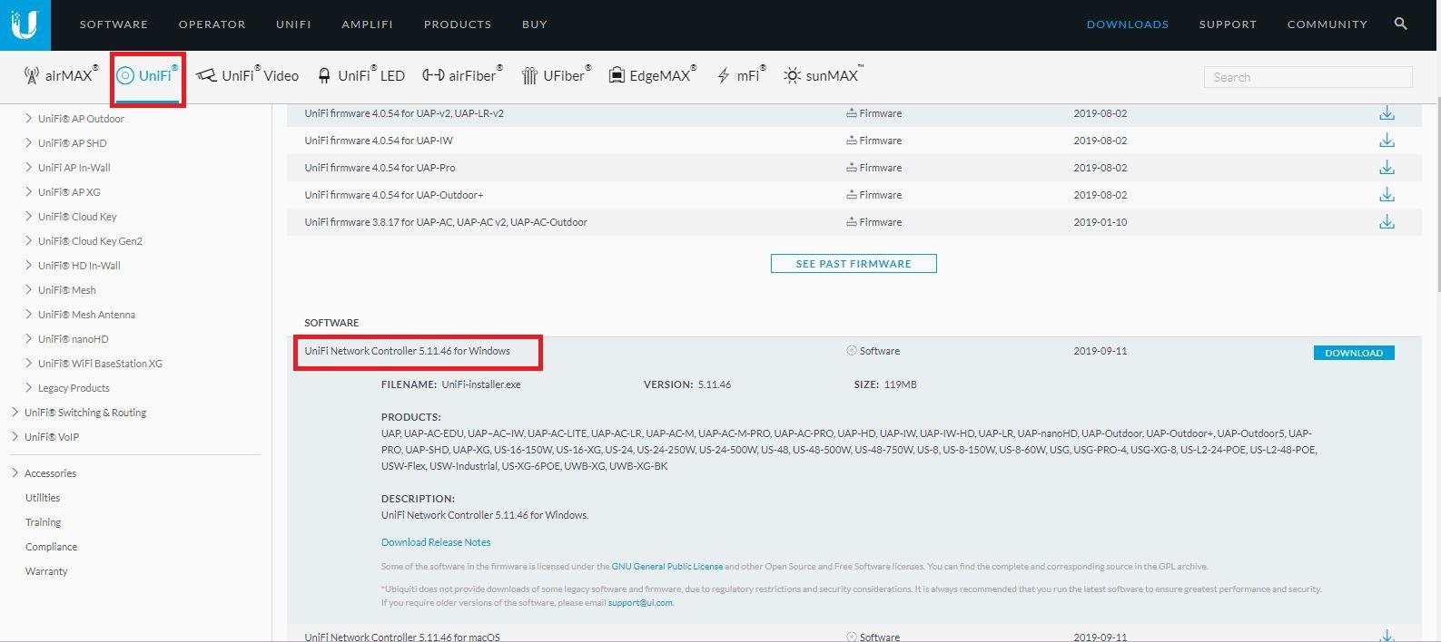 UniFi - ติดตั้งซอฟท์แวร์ UniFi Controller Version 5 7 23 บน Windows