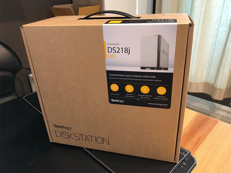 Synology DiskStation DS218j - 3 5